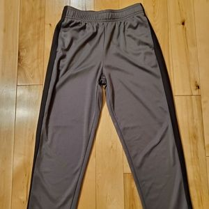 NEW All in Motion Boys Gray & Black Athletic Pants